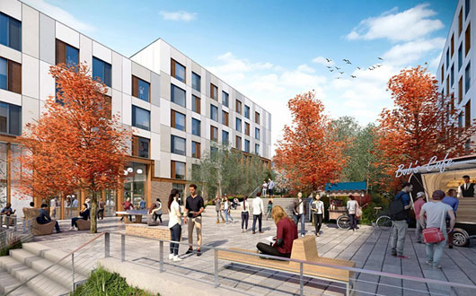 Building to deliver East Park development