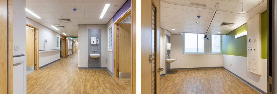 Work completes on Huddersfield Royal Hospital Ward 18