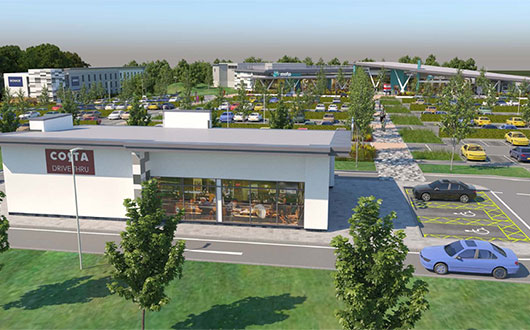 VINCI Construction UK secures £23.4m new Motorway service area in Rugby
